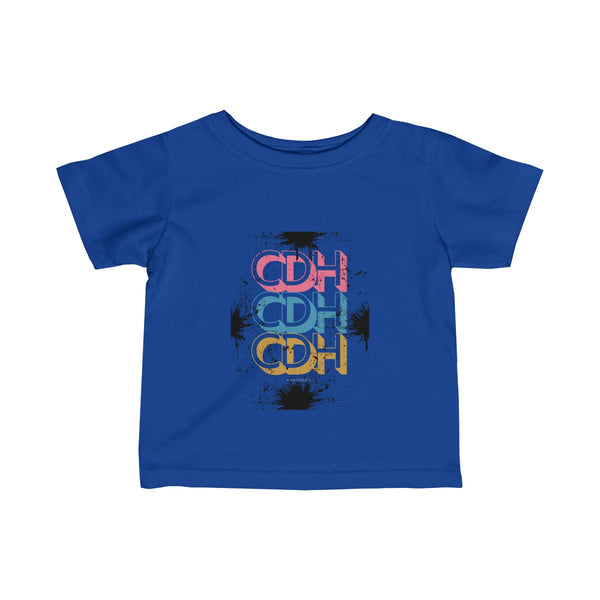 """CDH Retro"" Infant Fine Jersey Tee - CDH International"