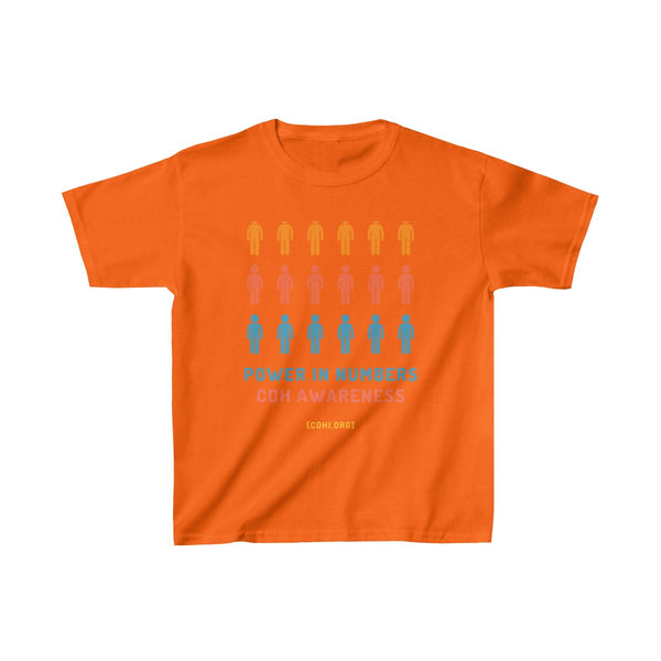 Power in Numbers CDH Awareness Kids Heavy Cotton™ Tee - CDH International