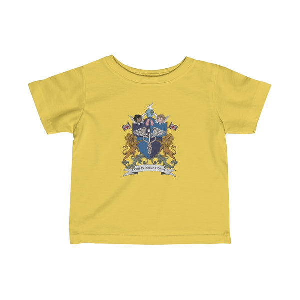 """CDHi UK Crest"" Infant Fine Jersey Tee (UK Printing) - CDH International"