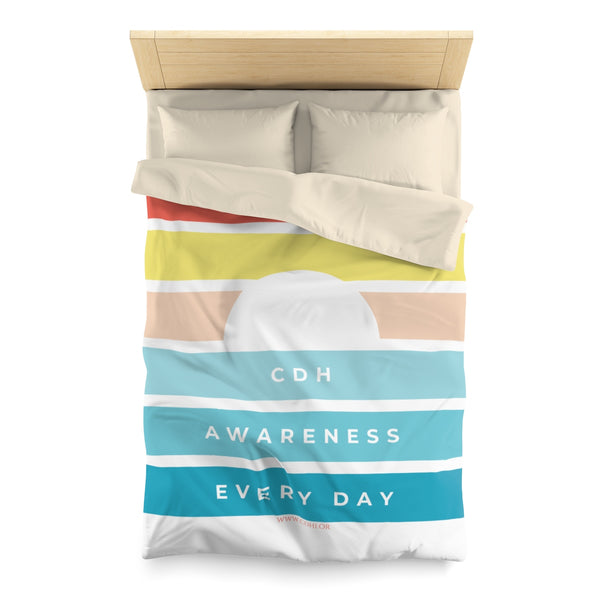 Raising CDH Awareness Every Day Microfiber Duvet Cover