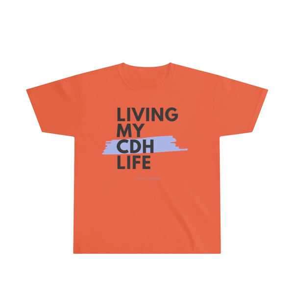 """Living My CDH Life"" Youth Ultra Cotton Tee - CDH International"
