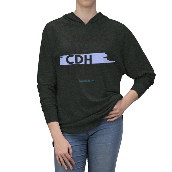 """Living My CDH Life"" Unisex Tri-Blend Hoodie - CDH International"