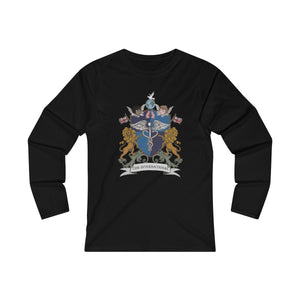 Women's CDHi UK Shield Crest Long Sleeve Tee