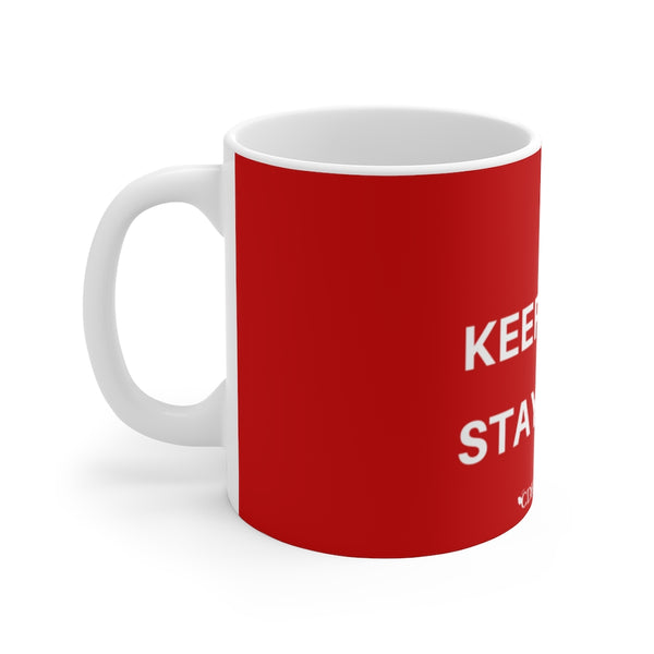 """Stay Calm & Stay Home"" CDHi UK  Mug 11oz - CDH International"