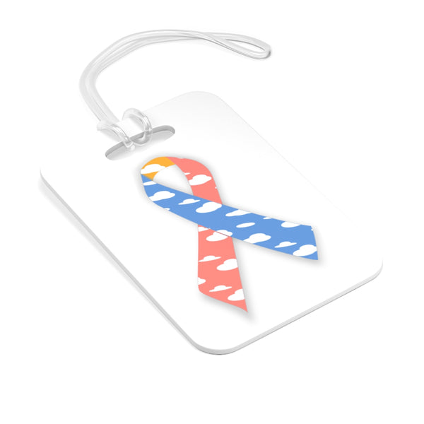 """CDH Awareness Ribbon"" Bag Tag"