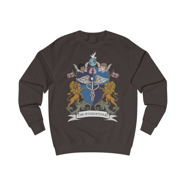 CDHi UK NGO Logo Men's Sweatshirt (UK Printing) - CDH International