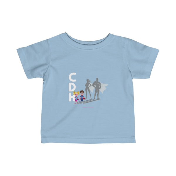 """CDH SuperheroKids"" Infant Fine Jersey Tee - CDH International"