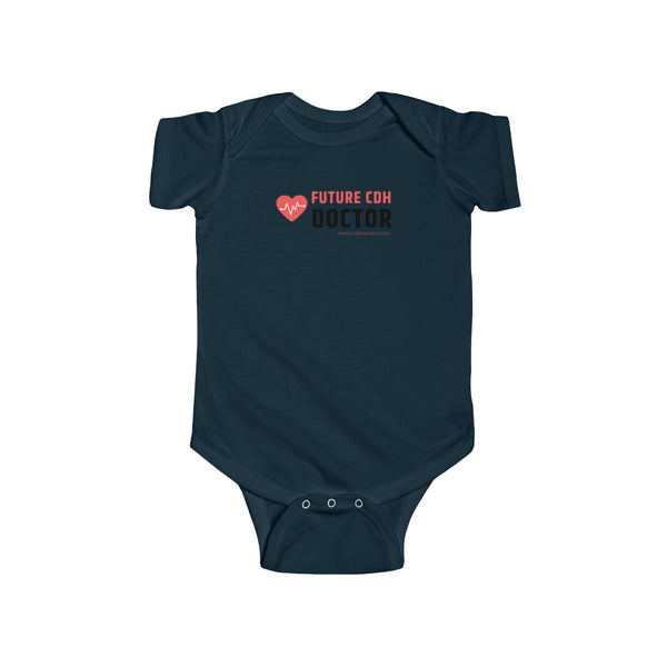 """Future CDH Doctor"" Infant Fine Jersey Bodysuit (UK Printing)"