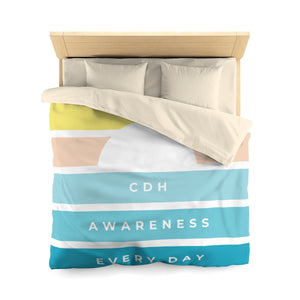 Raising CDH Awareness Every Day Microfiber Duvet Cover - CDH International