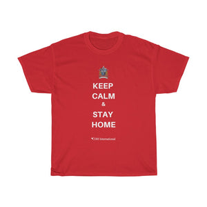 """Keep Calm & Stay Home"" CDH Awareness Shirt - Shirt #1 - CDH International"