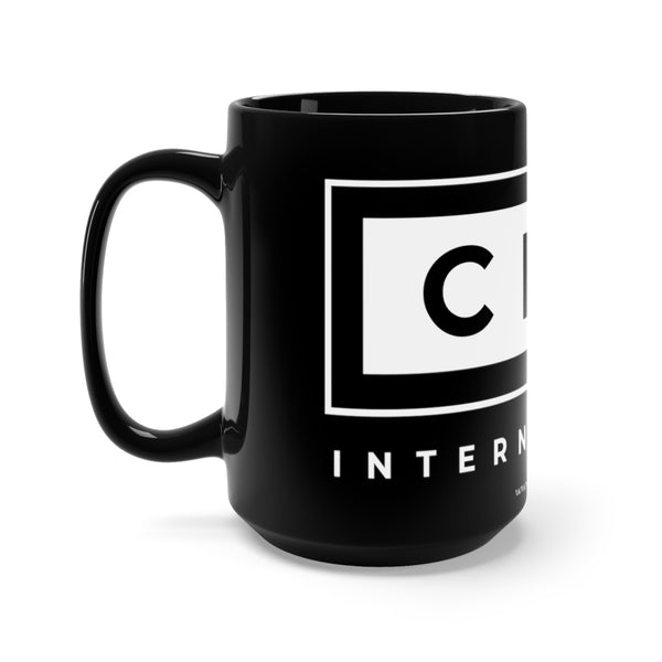 CDH International Black Mug 15oz