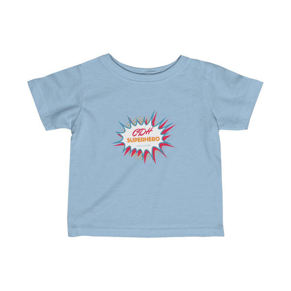 """BAM! CDH Superhero"" Infant Fine Jersey Tee - CDH International"