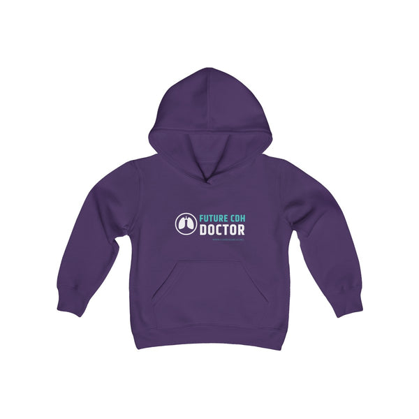 """Future CDH Doctor"" Youth Heavy Blend Hooded Sweatshirt"