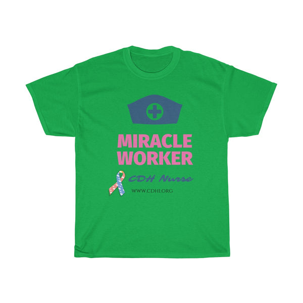 """CDH Miracle Worker"" Unisex Heavy Cotton Tee"