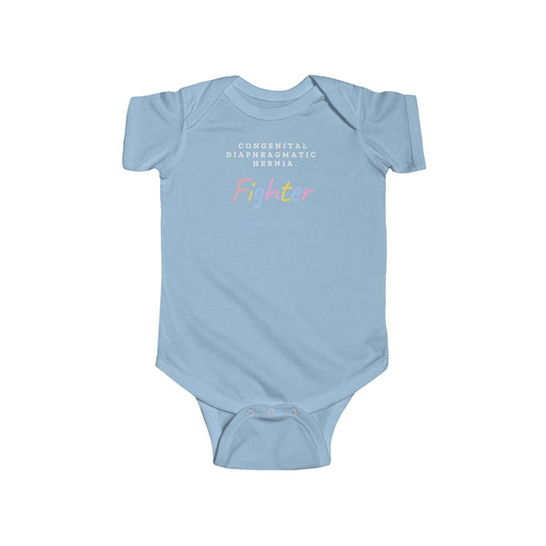 """CDH Fighter"" Infant Fine Jersey Bodysuit  (UK Printing) - CDH International"