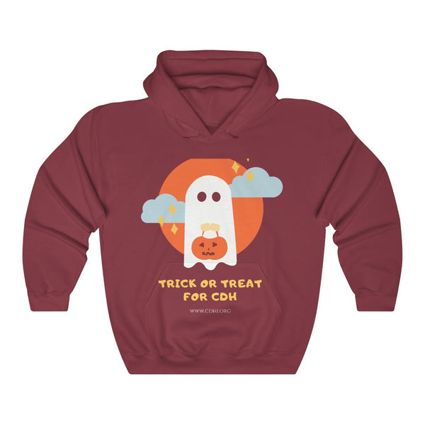 Trick-or-Treat for CDH Unisex Heavy Blend™ Hooded Sweatshirt