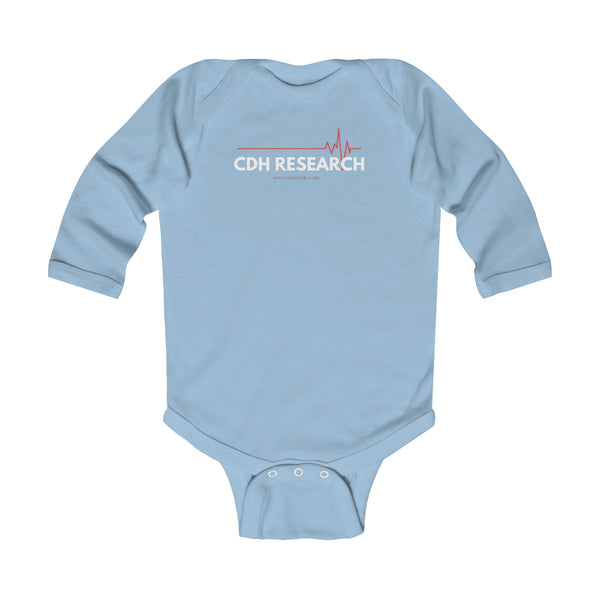 """CDH Research"" Awareness Infant Long Sleeve Bodysuit - CDH International"