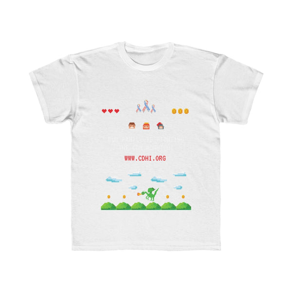 """CDH Awareness Gamer"" Kids Regular Fit Tee"