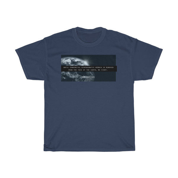 """Remove CDH From the Face of the Earth"" CDH Awareness Unisex Heavy Cotton Tee"