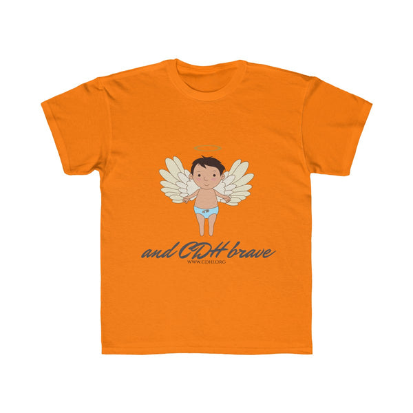 "Cherub ""CDH Brave"" Kids Regular Fit Tee - CDH International"
