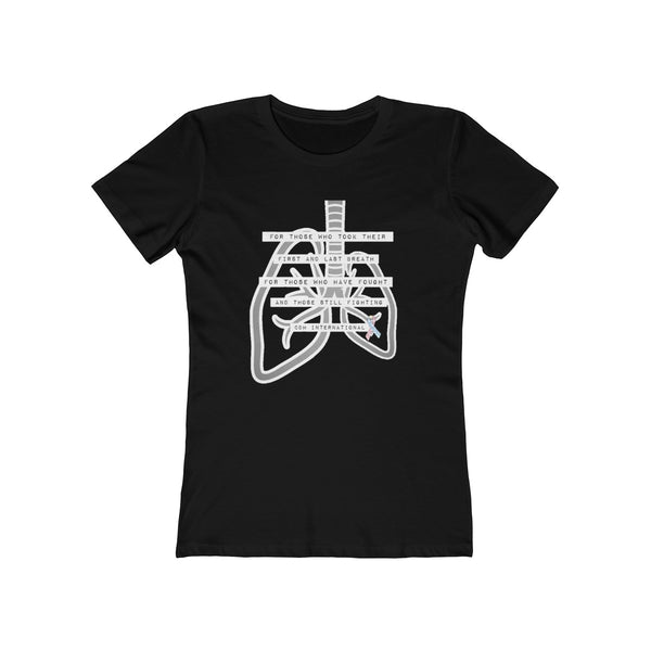 Women's CDH Lungs Tee - CDH International