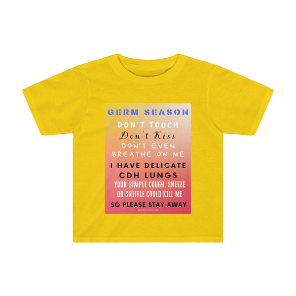 """Germ Season and CDH Lungs"" CDH Awareness Kids Tee - CDH International"