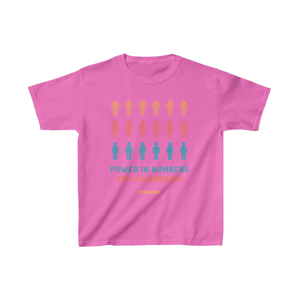Power in Numbers CDH Awareness Kids Heavy Cotton™ Tee