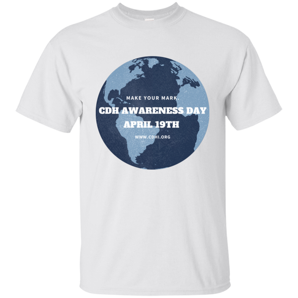"""Make Your Mark"" CDH Awareness Day T-Shirt - CDH International"