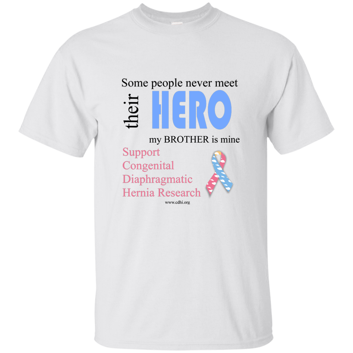 """Brother is my hero"" T-Shirt"