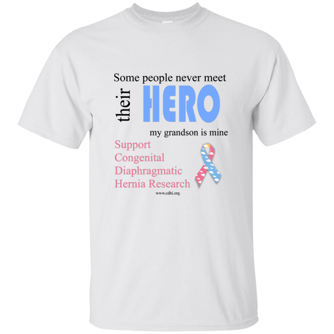 """Grandson is my hero"" T-Shirt"
