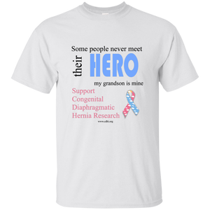 """Grandson is my hero"" T-Shirt - CDH International"