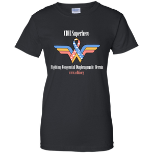 CDH Wonder Woman T-Shirt (Black) - CDH International