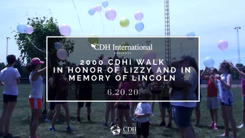Donate to the Walk for CDHi in memory of Lincoln and honor of Lizzy - CDH International