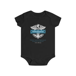"""CDHi Medical Symbol"" Infant Rip Snap Tee - CDH International"