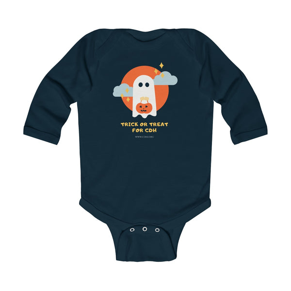 Trick-or-Treat for CDH Infant Long Sleeve Bodysuit