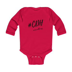 #CDH Awareness Infant Long Sleeve Bodysuit