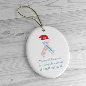 "CDHi's ""Merry Christmas Around the World"" Ornament"