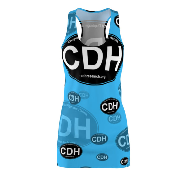 """CDH Awareness"" Women's Cut & Sew Racerback Dress"
