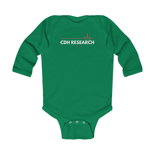 """CDH Research"" Awareness Infant Long Sleeve Bodysuit"