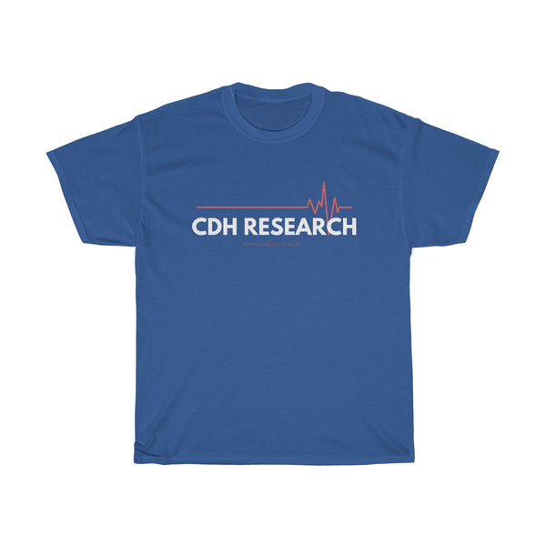 """CDH Research"" Awareness Unisex Heavy Cotton Tee"