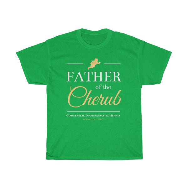 """Father of the Cherub"" CDH Awareness Unisex Heavy Cotton Tee"