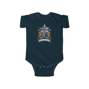 """CDHi UK Crest"" Infant Fine Jersey Bodysuit (UK Printing)"