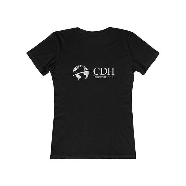 Women's CDHi Italy Shield Crest Tee