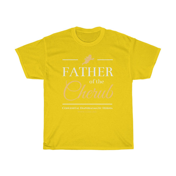 """Father of the Cherub"" CDH Awareness Unisex Heavy Cotton Tee - CDH International"