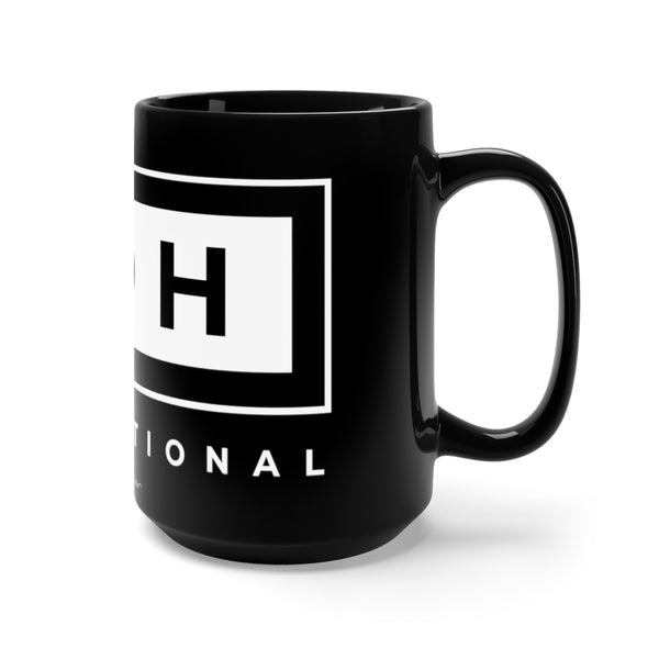CDH International Black Mug 15oz - CDH International