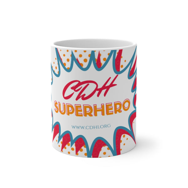"""BAM! CDH Superhero"" Color Changing Mug - CDH International"