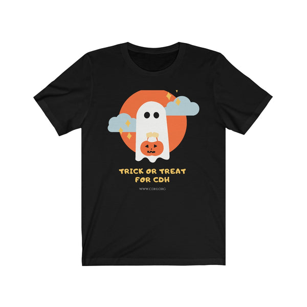 Trick-or-Treat for CDH Unisex Jersey Short Sleeve Tee