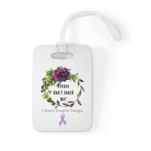 Carseat Tag - Please Don't Touch! - CDH International