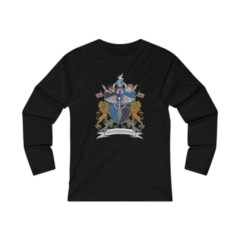 Women's CDHi USA Shield Crest Long Sleeve Tee