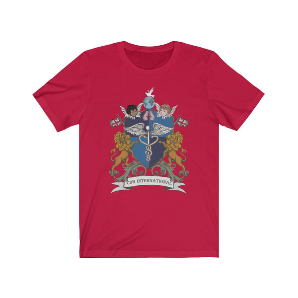 """CDHi UK Crest"" Unisex Jersey Short Sleeve Tee (UK Printing)"